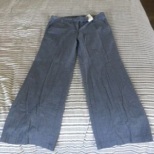 J Crew pinstripe pants